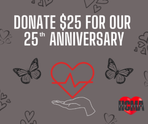 Donate $25 for 25 years